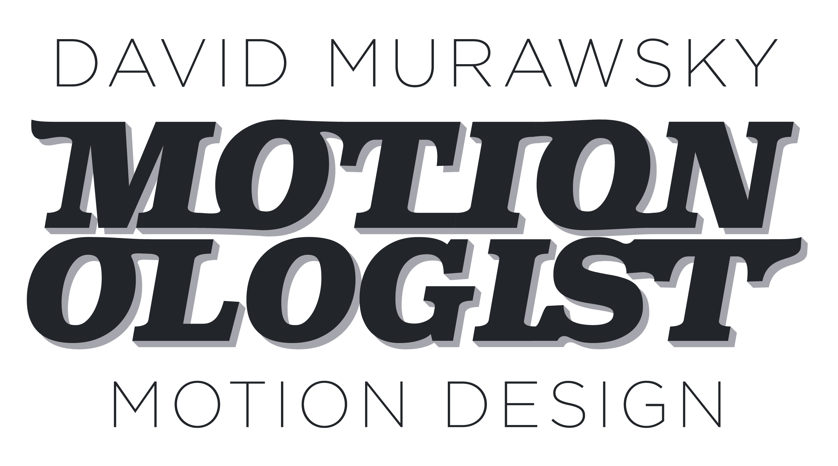 David Murawsky Motion Design